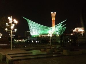 We also made a side trip to Kobe which is known for its night view so here is a picture of the Kobe night view.