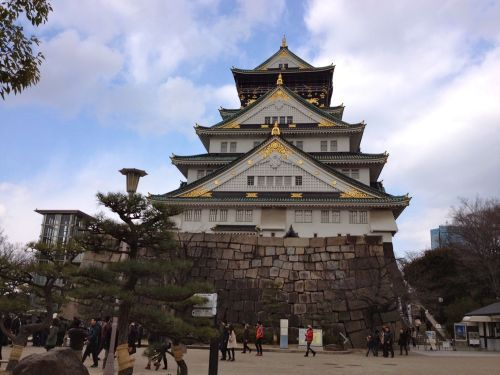 Osaka Castle. Revel in its awesomeness.