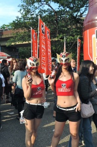 The Tecate girls at Cinco de Mayo. Stay tuned for part II coming soon.