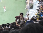 Tokyo Dome beer girl.