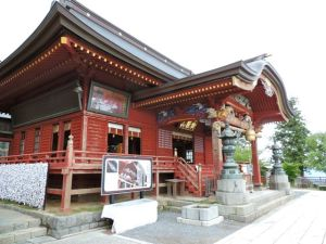 The 2,000 year old Musashi-Mitake Shrine.